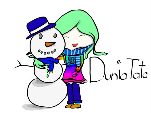 Mr.Snowman and the Girl