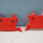 Cute Origami Crab
