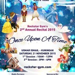 December Posting – Day 8 – Recital – Once Upon a Time.